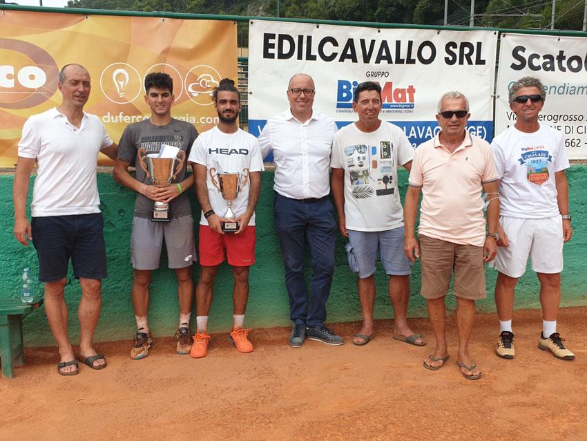 """BigMat Edilcavallo di Lavagna ha sponsorizzato il torneo di tennis """"Open città di Chiavari"""""""