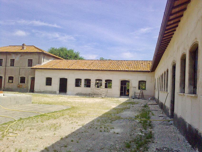 Agriturismo Borgo Pallavicini Mori, prima dei lavori