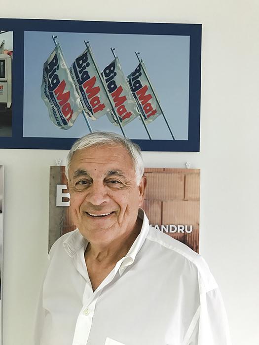 Giuseppe Poduti, titolare di BigMat Colamariani & Poduti