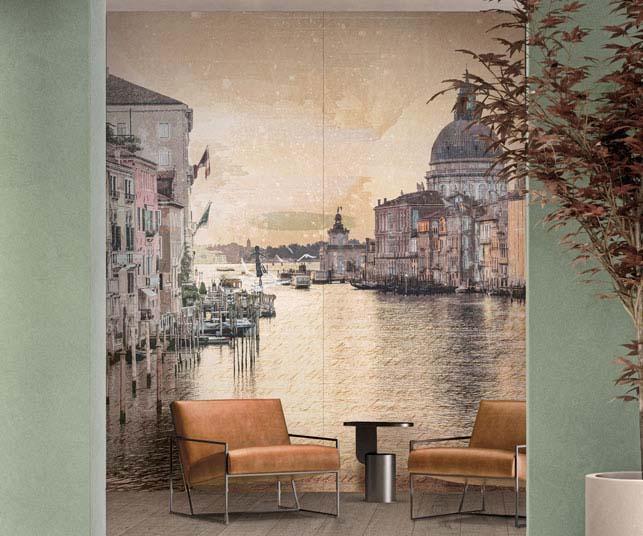 ABK Wide&Style Nuovi Mondi Venezia, Crossroad Wood Tan.