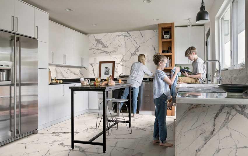 La cucina si fa spazio negli Showroom HABIMAT
